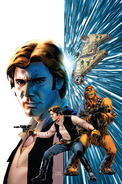 Han Solo 1 Cassaday textless variant