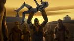 Wookiees Fight on Kessel