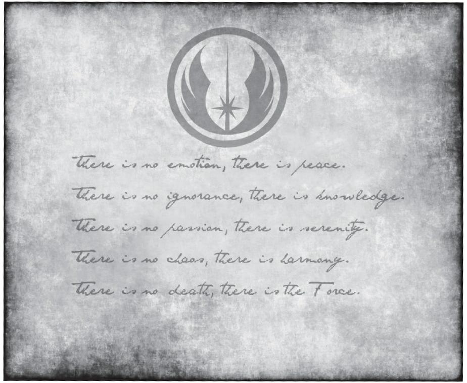 Jedi Code Wookieepedia Fandom Powered By Wikia