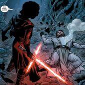Kylo Ren Luke Skywalker dead
