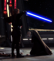 Dooku's head Flies off