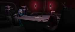Satine Palpatine meeting