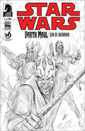 Son of Dathomir 1 Wizard World Sketch Variant