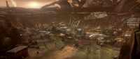 Destroyed Outpost
