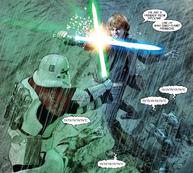 Luke vs Kreel on Crait