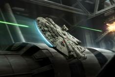 Rey Millennium Falcon XWM