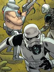 Bog Posla and Stormtrooper