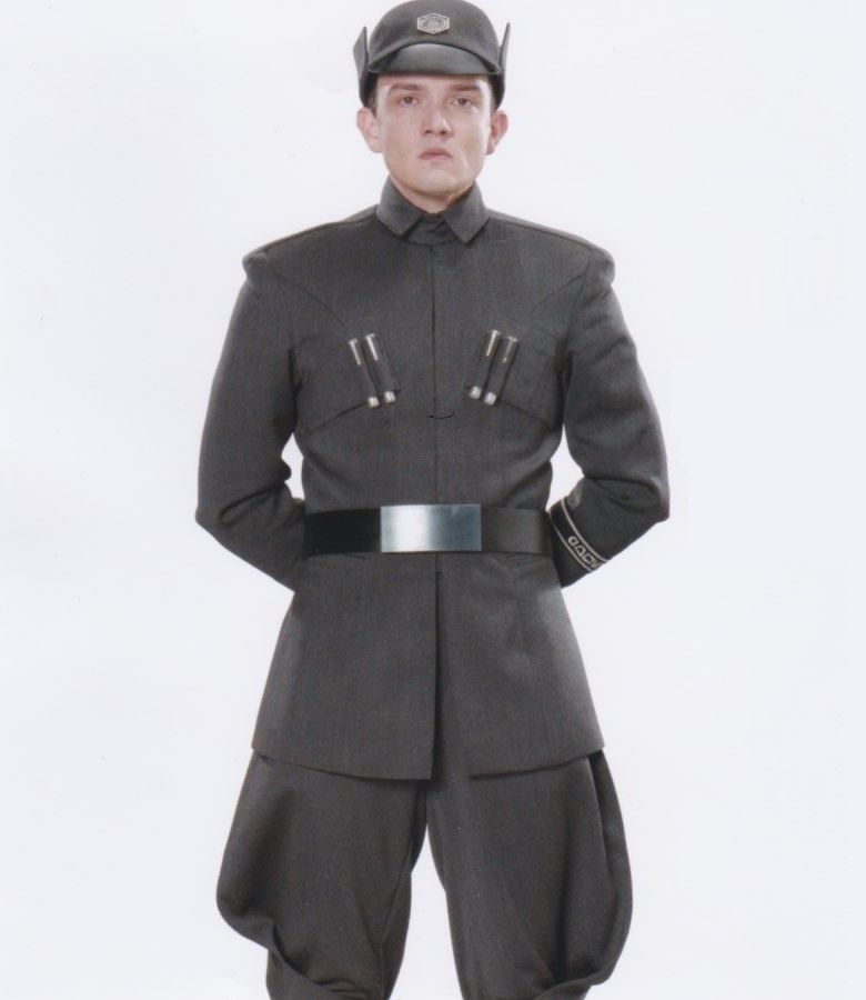 Star Wars Force Awakens Hux Costume Cosplay First Order Officer Uniform Patch