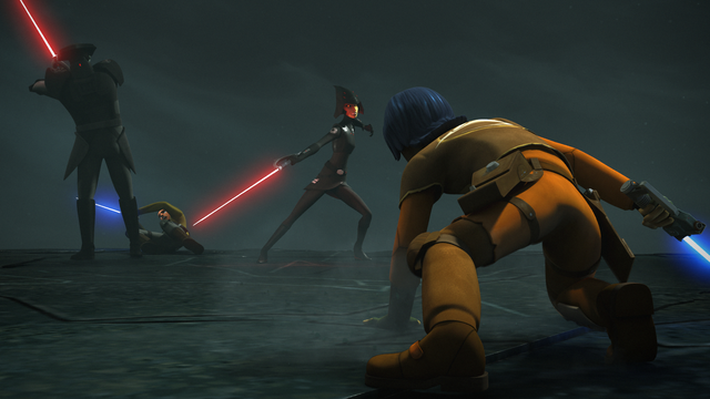 File:Kanan and Ezra fight the Inquisitors.png