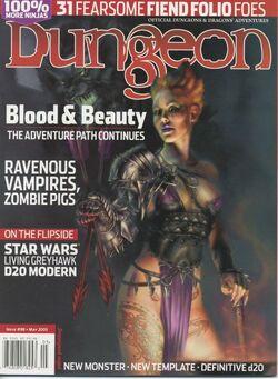 Dungeon Magazine 98 cover