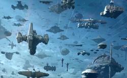 Galaxy fleet arrives CA