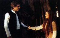 Han Leia Endor