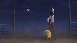 Lando bids farewell