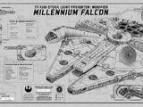 """Millennium Falcon"" SpecPlate"