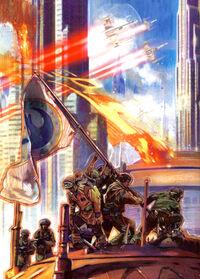 Új Köztársaság-Coruscant bevétele