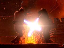 Kenobi Skywalker duell