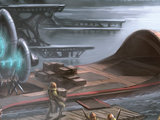 Pongeeta-class swamp speeder