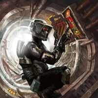 Storm Commando special agent by Barger