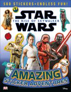 The Rise of Skywalker Amazing Sticker Adventures cover