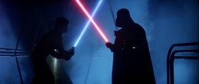 Vader Luke Fight V