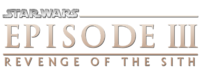 《星球大战3:西斯的复仇》LOGO2
