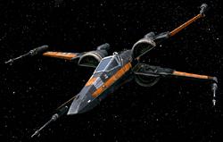 Poe Dameron X-wing SWCT