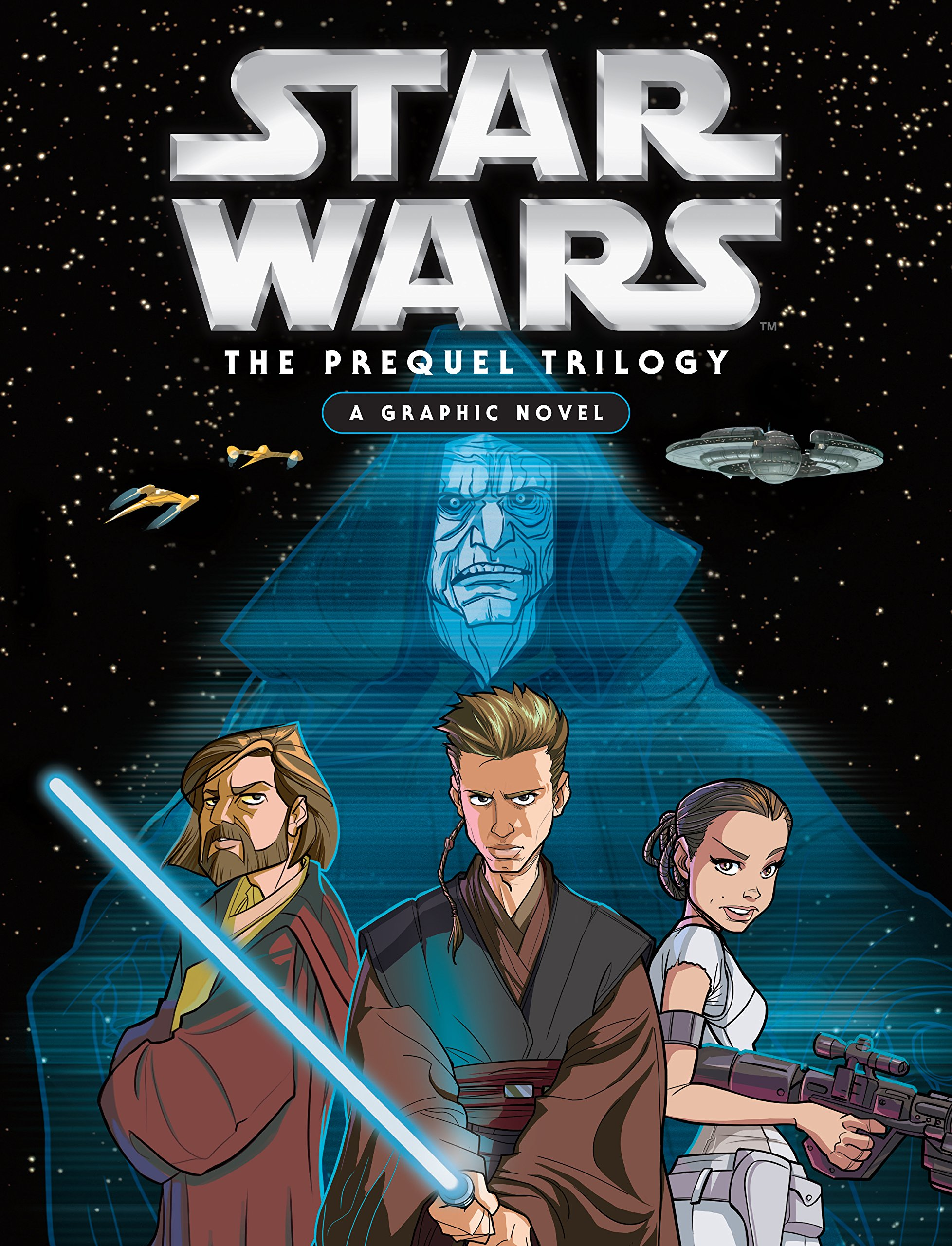 Image result for star wars the prequel trilogy a graphic novel