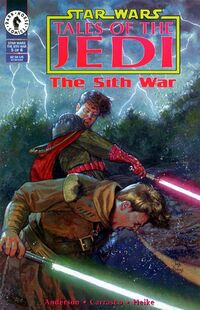 Tales of the Jedi - The Sith War 5 - Brother Against Brother