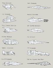 Vzdusny spidr modely