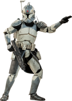 Clone Commander Wolffe Sideshow