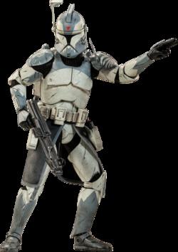 Clone Commander Wolffe Sideshow