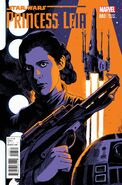 Princess Leia 3 Francesco Francavilla Variant Cover