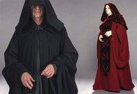 Two of Palpatine s Sith robes 97e903981