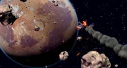 Spacer crashing on Tatooine