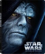 Star Wars Episode VI Return of the Jedi Blu-ray Steelbook