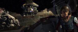 Devaron Space Battle