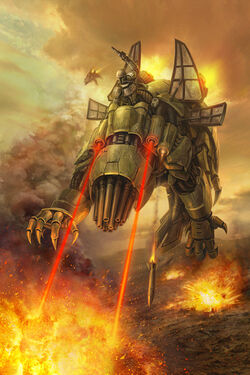 Basilisk War Droid1