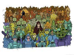 CW Aliens