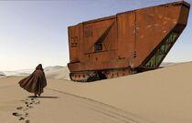 Sandcrawler Obiwan