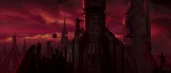 Coruscant abandoned tower
