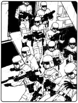 Imperial Trooper Deployment