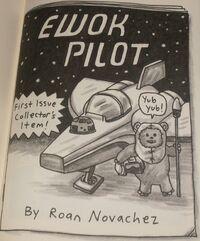 Ewok Pilot 1 Cover