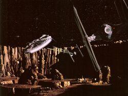 Falcon Asteroid Field