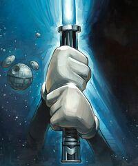 Jedi Mickey lightsaber