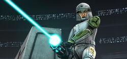 Training Clone Trooper