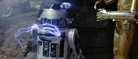 R2 Endor Damage