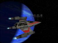 T-wing on Patrol