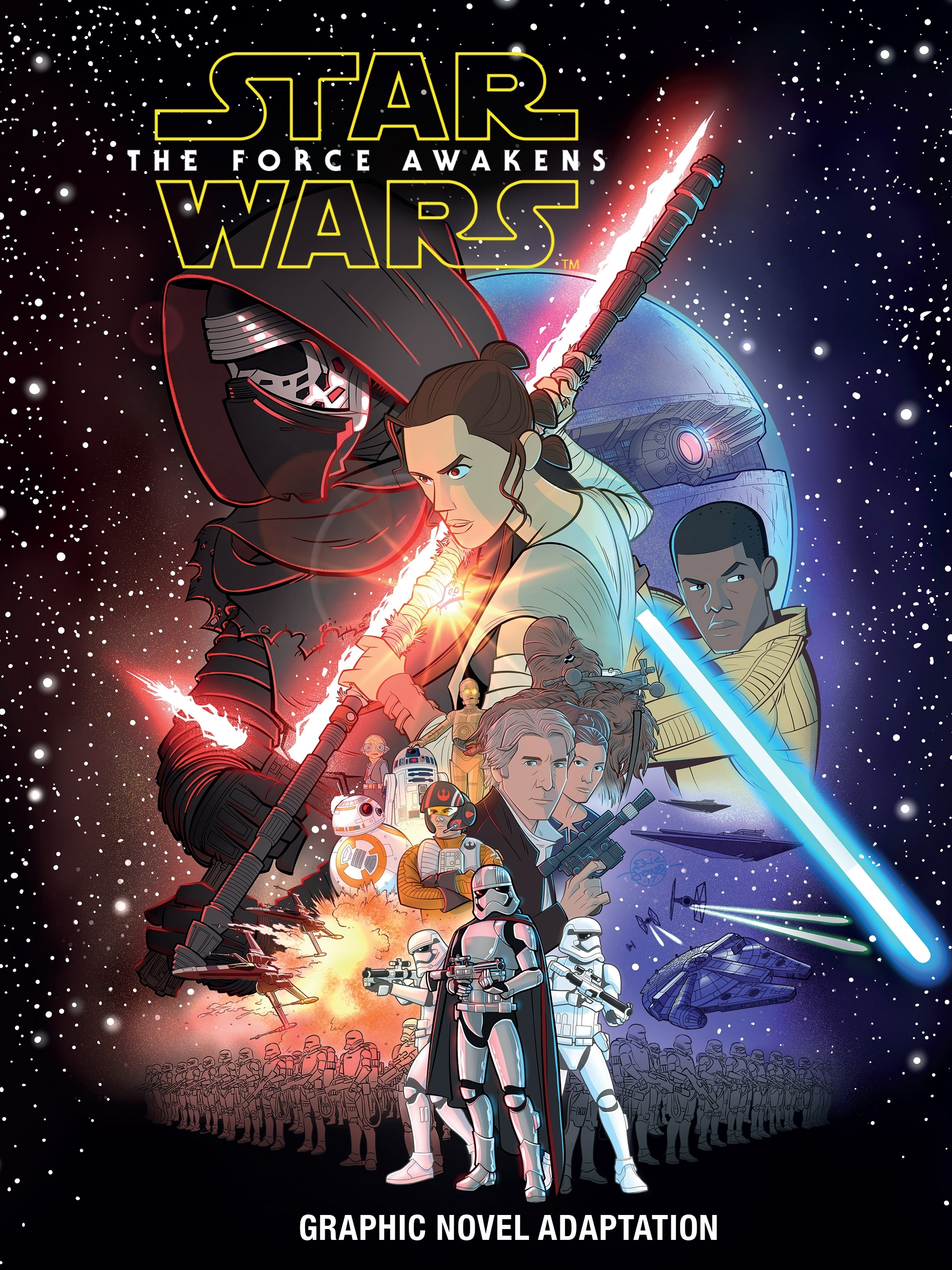 Star Wars: The Force Awakens Graphic Novel Adaptation