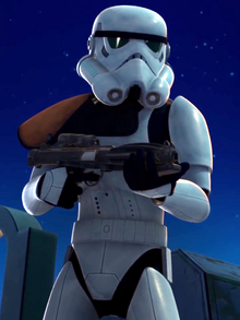 Unidentified stormtrooper captain Lothal