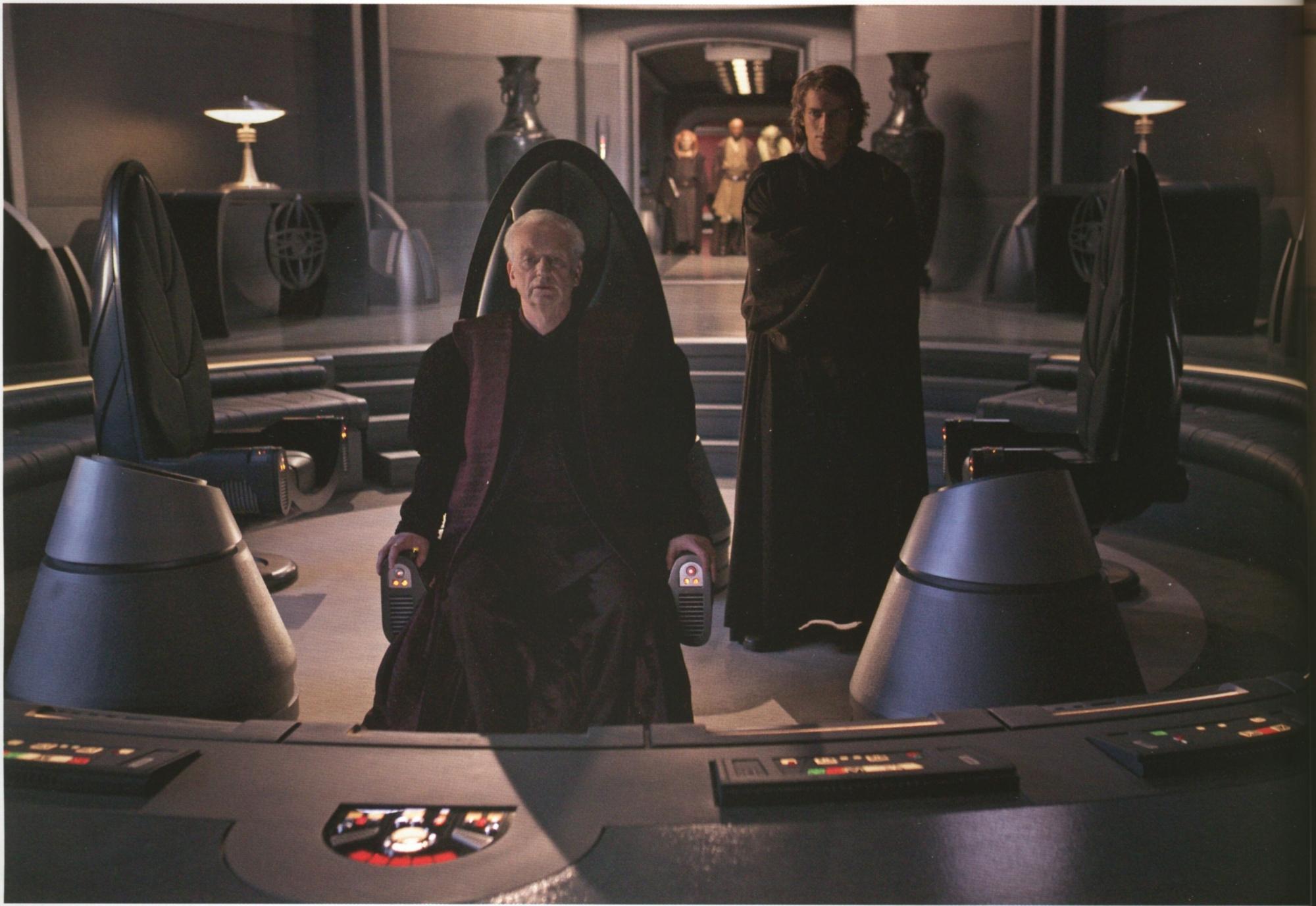 Duel In Palpatine S Office Wookieepedia Fandom